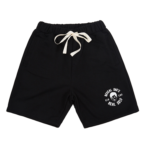 STV. R.O.R.S SWEAT SHORTS BLACK