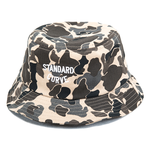 STV. NEW LOGO BUCKET HAT CAMO