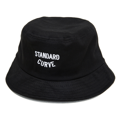 STV. NEW LOGO BUCKET HAT BLACK