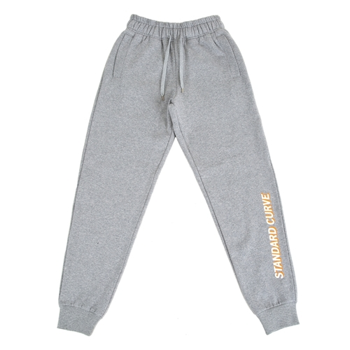 STV. 16 FONT LOGO SWEAT PANTS GRAY