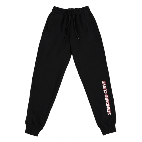 STV. 16 FONT LOGO SWEAT PANTS BLACK