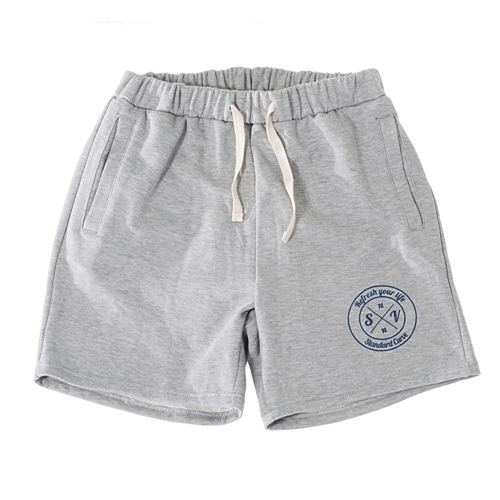 STV. RYL EMBLEM SWEAT SHORTS GRAY