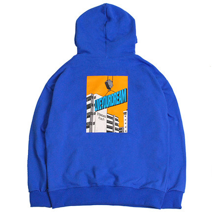 STV. LIVE YOUR DREAM HOODY SKY BLUE