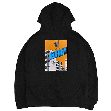 STV. LIVE YOUR DREAM HOODY BLACK