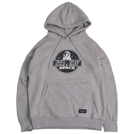 STV. SPACE PENGUIN HOODY GRAY