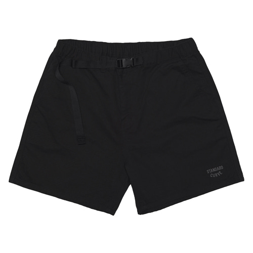 STV. 20 WEBBING BELT SHORTS BLACK