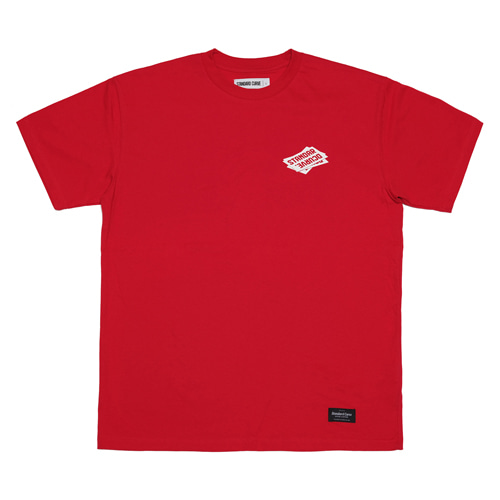 STV. BUSINESS CARD TEE RED